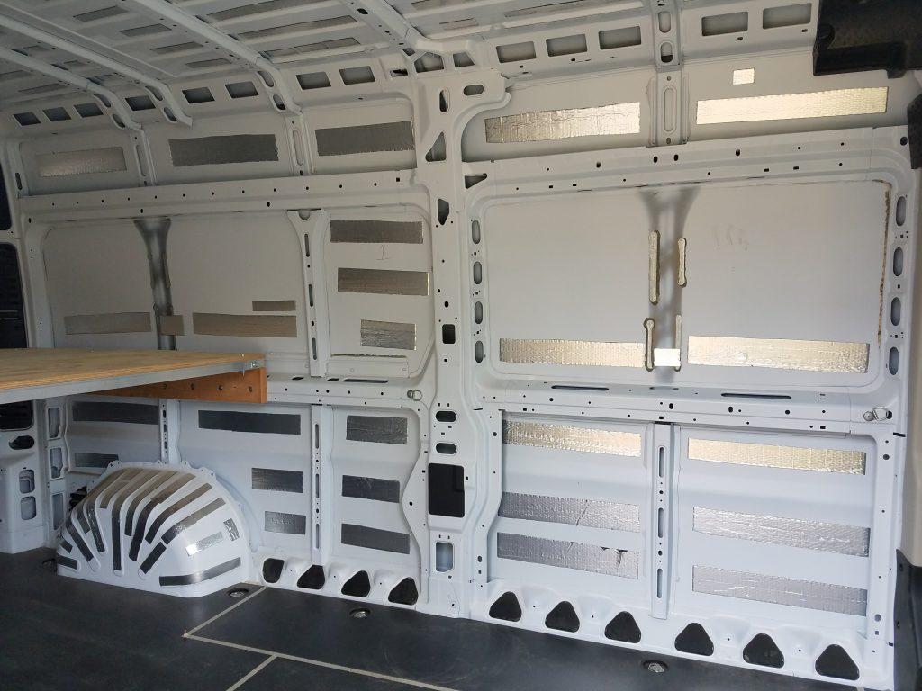 van build sound deadening