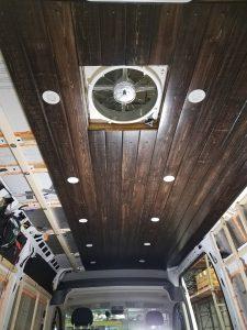promaster van build ceiling
