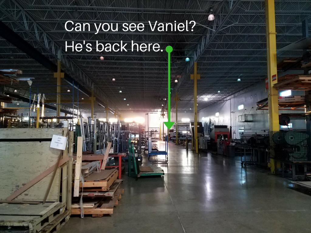 Vanual labor warehouse
