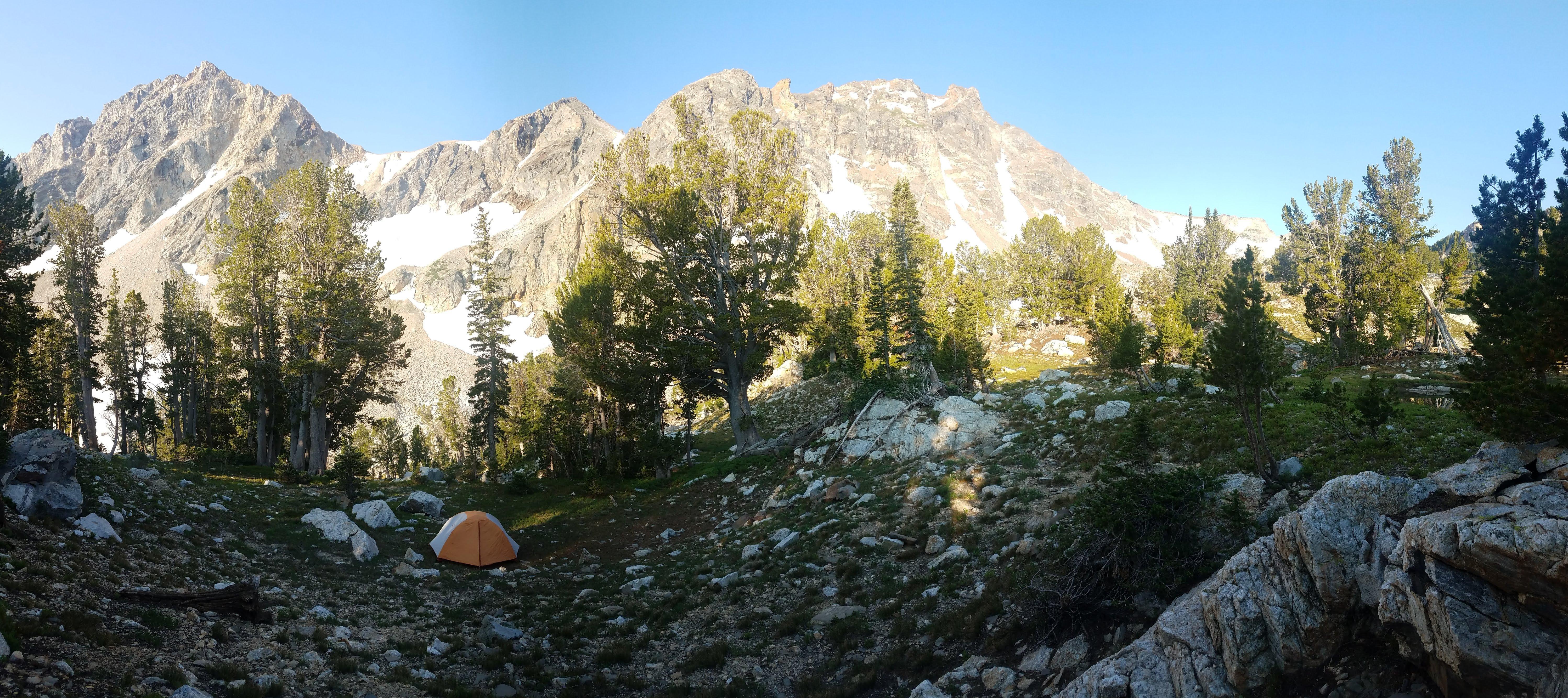 Grand Teton National Park backpacking