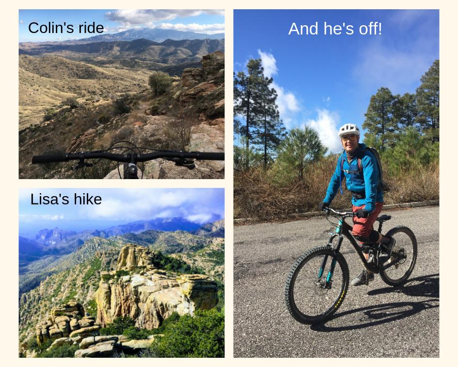 Mount Lemmon mountain biking