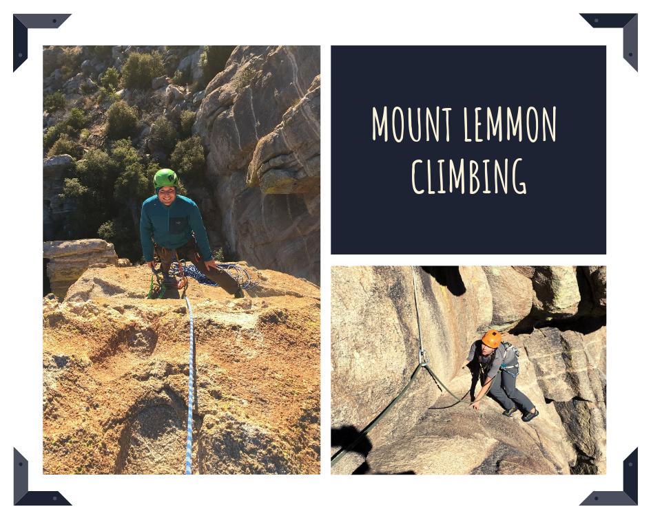 mount lemmon climbing